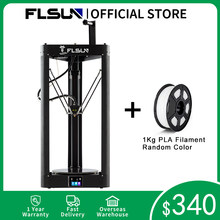 Flsun impressora 3d QQ-S-PRO sensor de nivelamento automático pré-montagem titan extrusora tft 32 bits placas drukarka