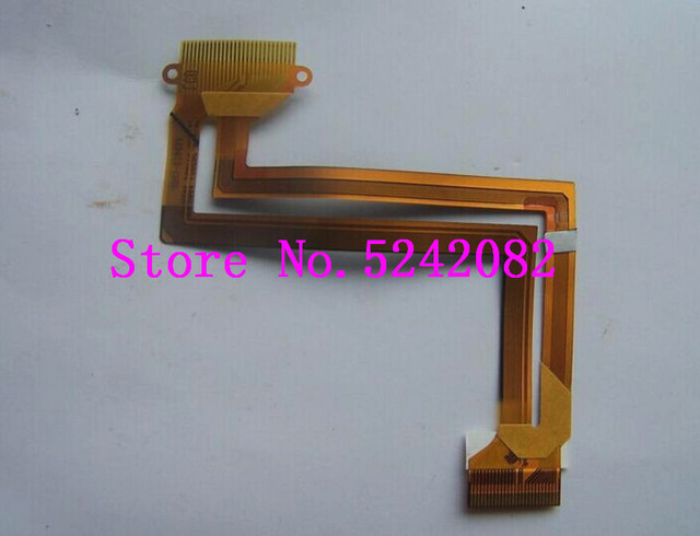 2PCS/NEW LCD Flex Cable For SAMSUNG HMX H200 BP HMX H204 HMX H205 HMX H220 H200 H204 H205 H220 Q100 Video Camera Repair Part