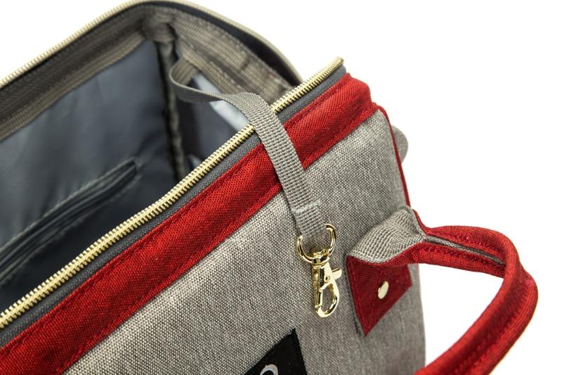 H5e9e916979004fa1ad23658187669f30C Baby diaper bag mommy stroller bags USB large capacity waterproof nappy bag kits mummy maternity travel backpack nursing handbag