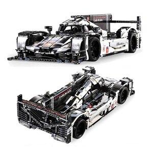 Image 2 - 1586個テクニックスーパースポーツレーシングカービルディングブロックmocリモートコントロールカーレンガセットクリエーターエキスパート子供のおもちゃ子供ギフト