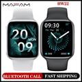 Смарт-часы MAFAM HW22 серии 6e, 1,75 дюйма, HD экран, Bluetooth, звонки, «сделай сам», умные часы, фитнес-часы для Android и ios