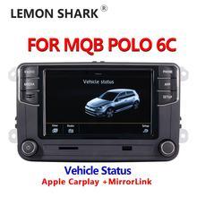 MIB Auto Radio Carplay Mirrorlink Neue RCD330 RCD360C 187B 280D 280E Radio Fahrzeug Status Display Nur Für VW MQB POLO 6C Auto