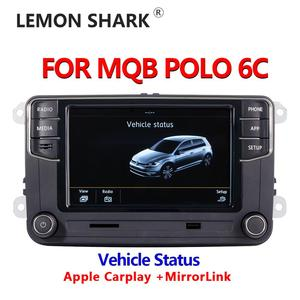 Image 1 - Mib車ラジオcarplay mirrorlink新RCD330 RCD360C 187B 280D 280Eラジオ車両の状態表示のみvw mqbポロ6C車