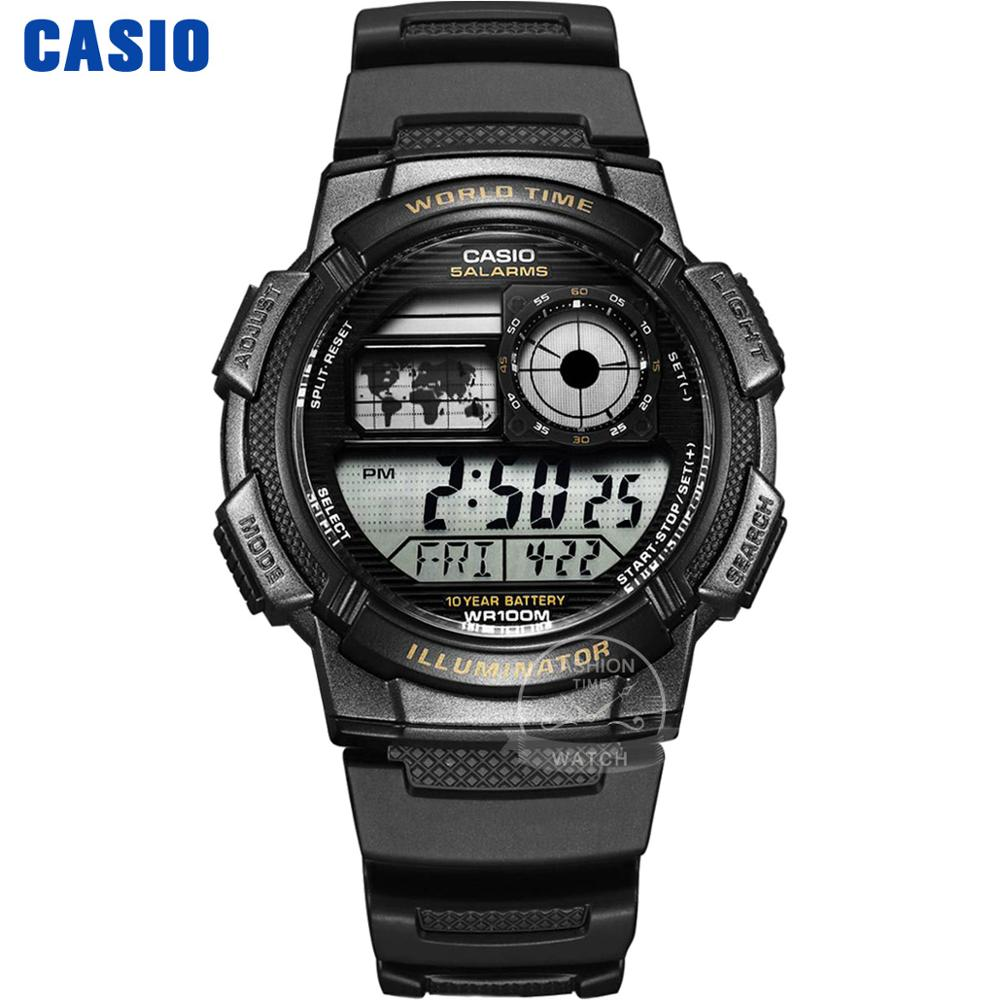 <font><b>Casio</b></font> uhr g schock uhr männer top marke luxus led digital wasserdicht quarz herrenuhr sport militär armbanduhr relogio masculino reloj hombre erkek kol saati montre homme zegarek meski AE-1000 image