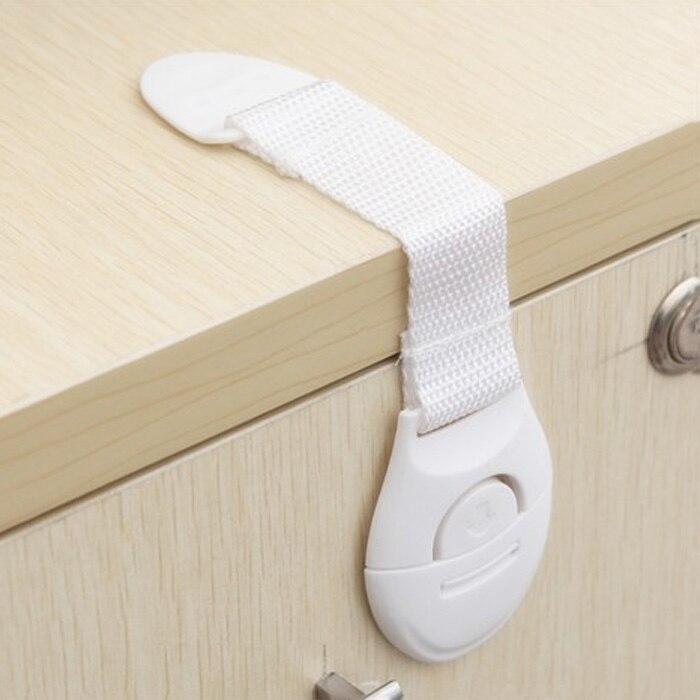 5pcs Toddler Baby Kids Safety Lock Proof Cabinet Drawer Fridge Cupboard Door HOT