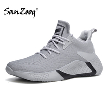 Sanzoog Spring2020 Trend Lifestyle Breathable White Men Sneakers Sports