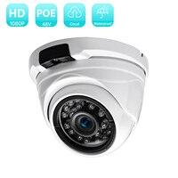 BESDER grandangolo 2.8mm 720P 960P 1080P PoE telecamera Dome CCTV telecamera IP per interni in metallo a infrarossi antivandalo per esterni