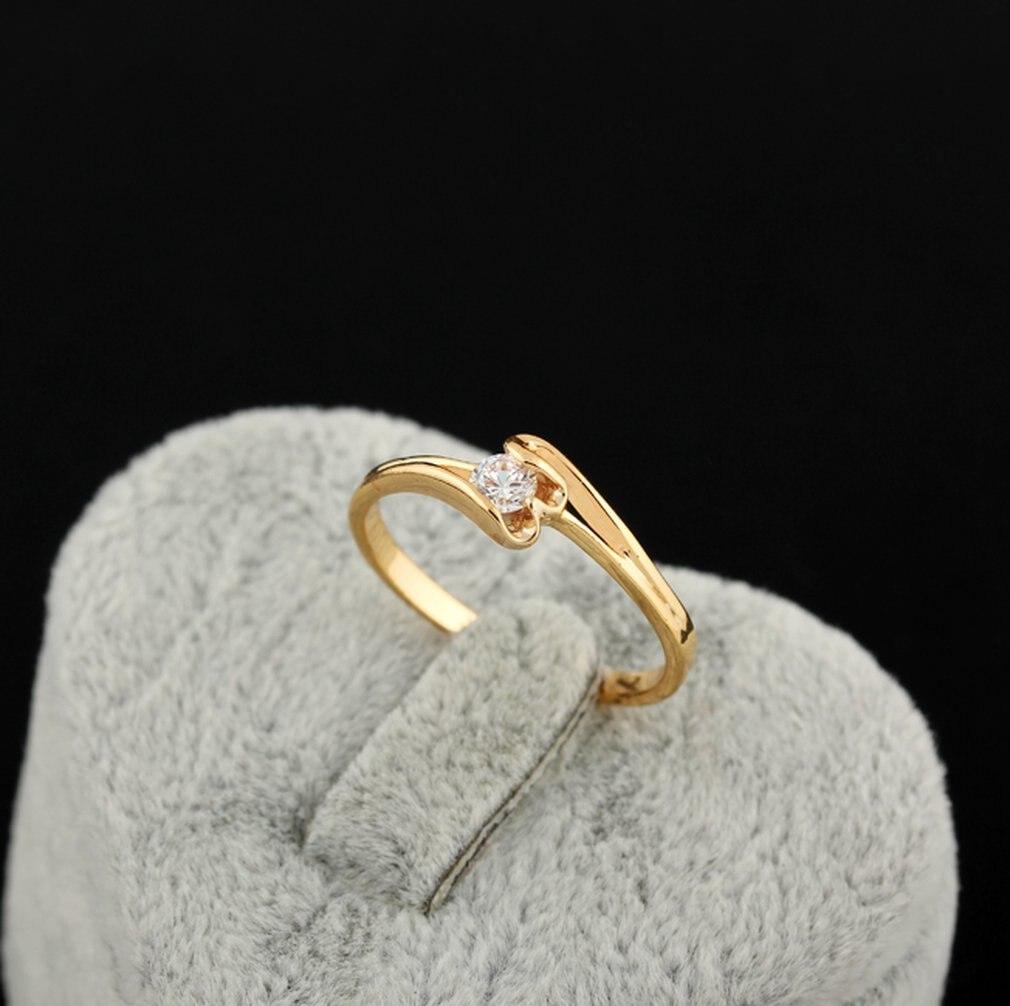 Neueste J0303-J-B-9 Korean Kurve Liebe Zirkon Ring Kupfer Finger Reif Hoop Mode Schmuck Dekoration Für Geschenk Hochzeit
