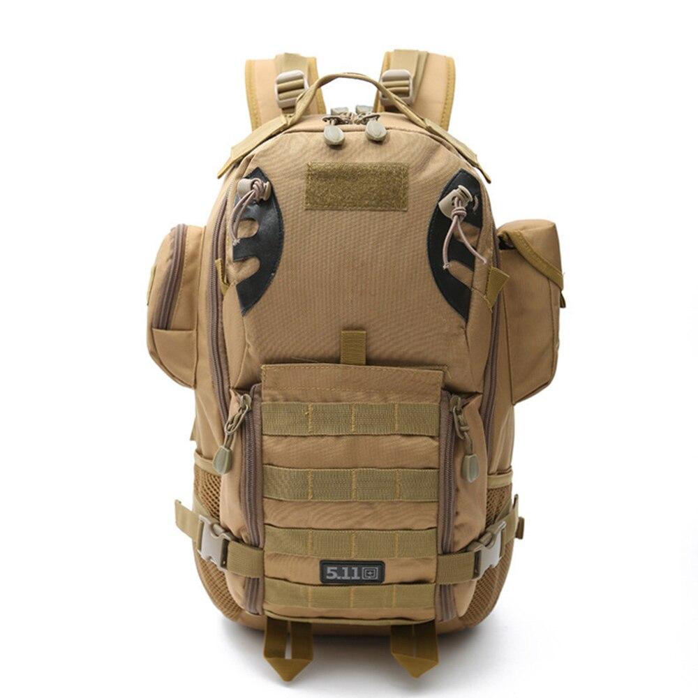 45L mochila militar al aire libre, mochila táctica, Camping, senderismo, viaje, bolsa deportiva, escalada, bolsas del ejército, Molle, saco de caza XA943WA