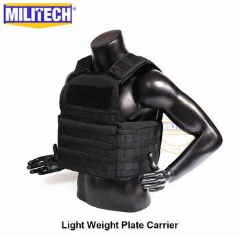 MILITECH Light Weight Vest Military Assault Tactical Plate Carrier Police Overt Wear Body Armor Plate Carrier 4