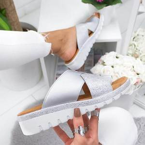 JODIMITTY Women Shoes Artificial  Slippers Orthopedic Bunion Corrector Comfy Platform  Ladies Casual Big Toe Correction Sandal