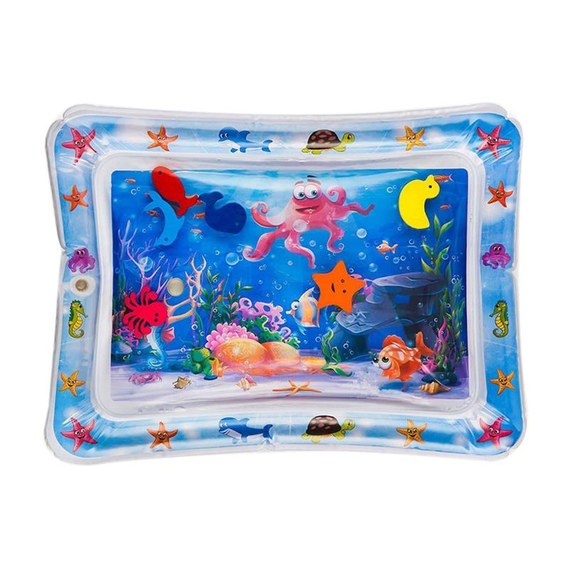 Baby Summer Water Pad Child Ice Large Pvc Water Inflatable Patted Water Pad Prone Pat