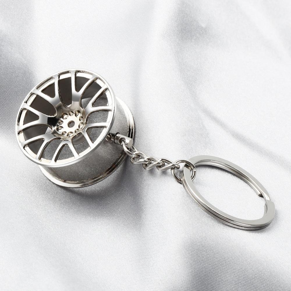 Dodge HEMI Wheel Key Chain