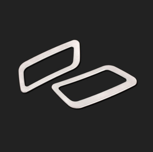 NISSAN QASHQAI X-TRAIL 2014 2015 2016 CHROME DASHBOARD AIR VENT TRIM - Avtomobil ehtiyat hissələri - Fotoqrafiya 4