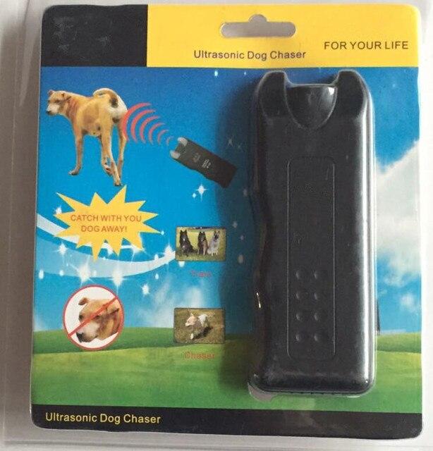 Ultrasonic Dog Chaser Away Self Defense safety wolf Stops Aggressive Animal Attacks Deterrent Repeller Defence Flashlight Stick 3