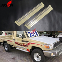 Car Side Door Body Strip Protection Fender Trim For Toyota Land Cruiser FJ79 HDJ79 Pickup Anti Scratch