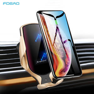 FDGAO Car-Charger Wireless Phone-Mount S20 Samsung for 10W Qi 11 XS Xr-X-8 S20/Infrared/Sensor
