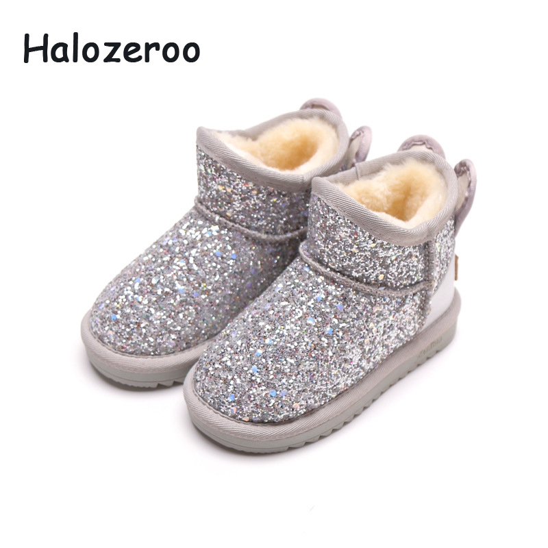 baby glitter boots