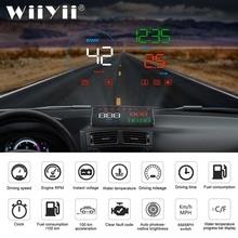 Newest Head Up Display Car OBDII EUOBD Windshield Projector HUD Shift Reminder Water Temp RPM fuel consumption speed alarm