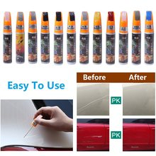 Auto Kras Reparatie Pen 1PC Pro Auto Jas Verf Pen Touch Up Kras Clear Repair Remover Pen Zilver /zwart/Blauw/Groen(China)