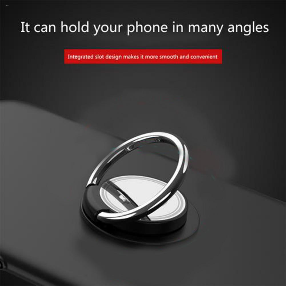 Mobile Phone Ring Stand Mini Car Phone Holder Phone Universal Bracket 360 Degree Mount Holder Finger Ring Holder