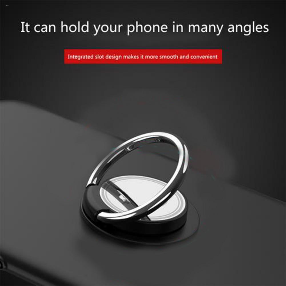 Mobile Phone Ring Stand Mini Car Phone Holder Phone Universal Bracket 360 Degree Mount Holder Finger Ring Holder