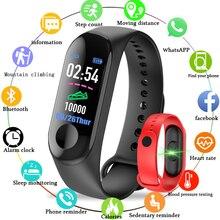 цена на M3 Smartband Fitness tracker Smart Bracelet Blood Pressure Heart Rate Monitor Waterproof Smart band PRO Wristband PK Mi Band 3