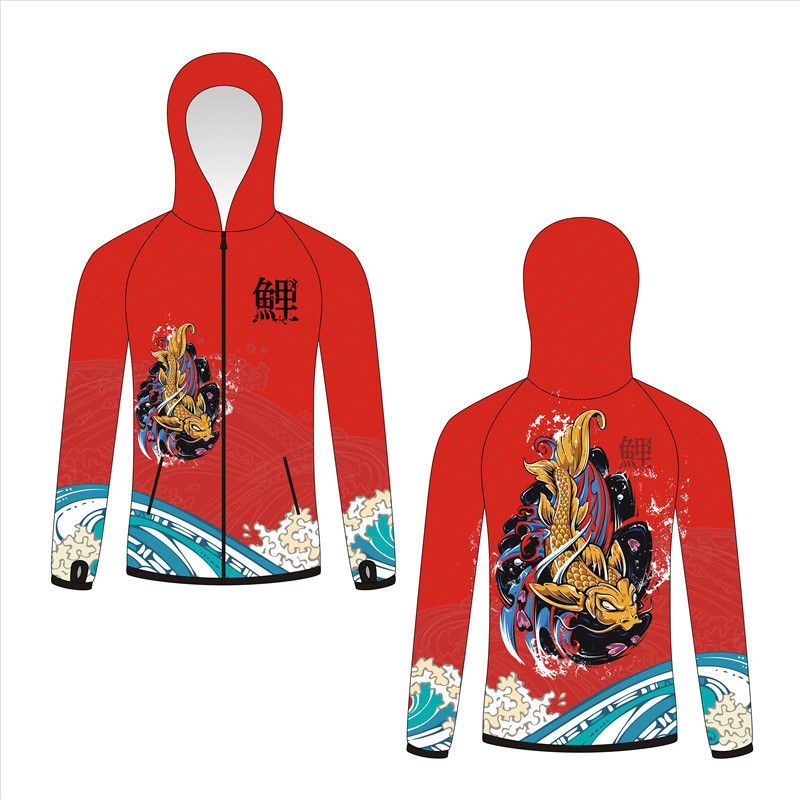 Fishing Clothing Men's chui diao fu Outdoor Fishing Sun Protection Clothing Breathable Set Ultra Thin Anti mosquito Coat Floodlights     - title=