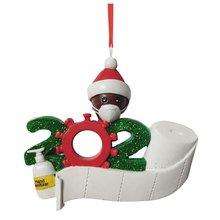 2020 персонализированный кулон рождество украшения мини милый кукла украшение кулон маска и рождество шляпа