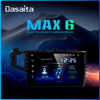 Dasaita 10.2 IPS Android 9.0 Car Radio TDA7850 for Honda Fit Jazz GPS 2013 2014 2015 Bluetooth Car Stereo Multimedia Player