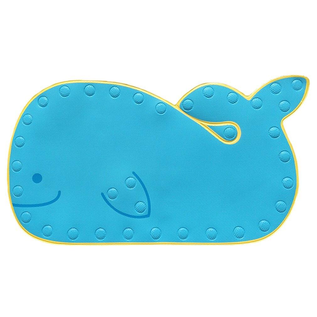 Blue Mat While In The Bath Heat Sensitive Pvc Anti Slip Baby Kids Bath Mat Colour Change Water Temperature