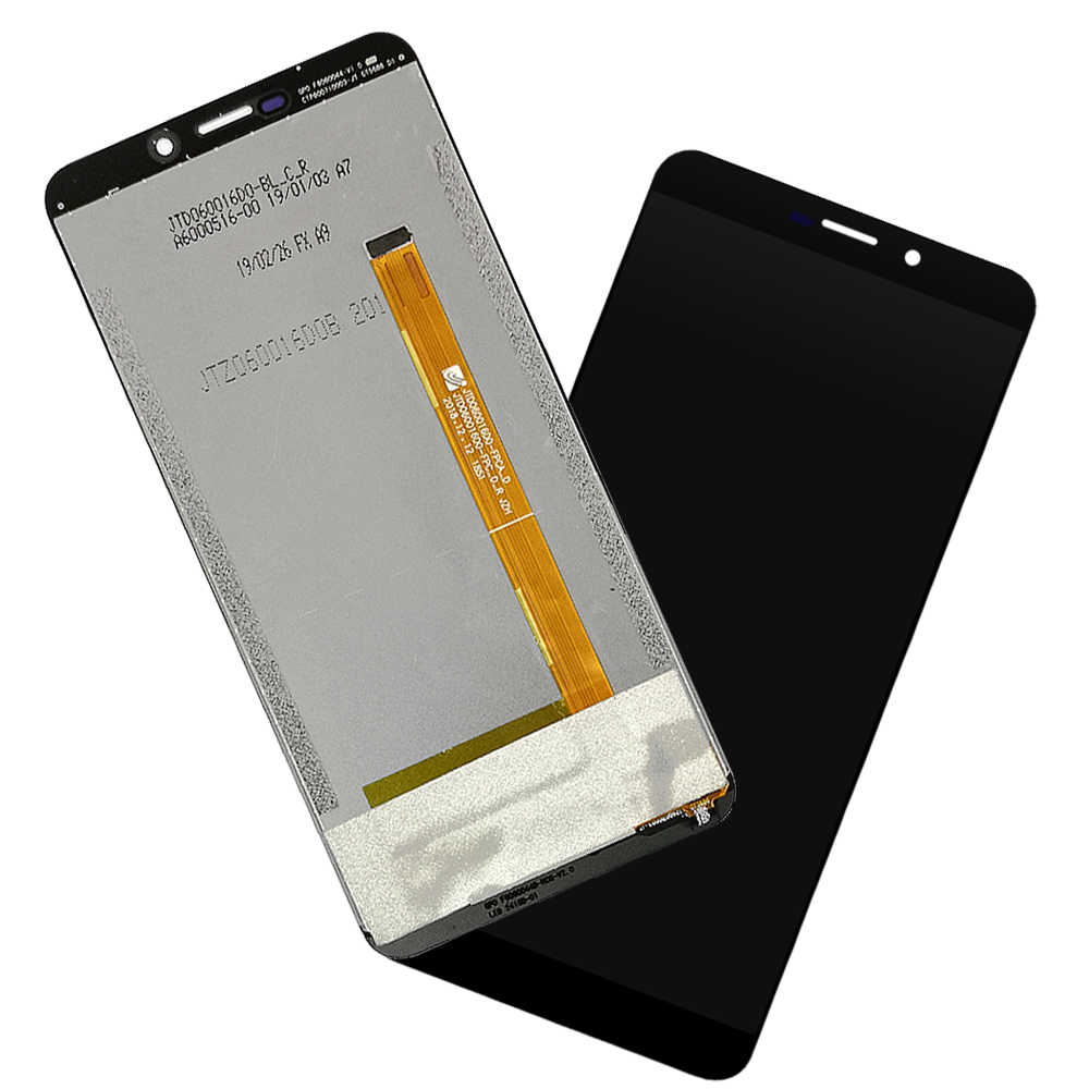 Spare Part Black EasePoints for LCD Screen and Digitizer Full Assembly for Ulefone Power 3L Color : Black