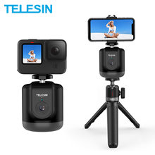 TELESIN Smart Shooting Gimbal Selfie 360° Rotation Auto Face Object Tracking For GoPro Osmo Action Smartphone Camera Vlog Live