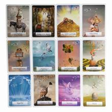 4 Styles English Oracle Cards Deck Play Games Tarot Guidance Divination Fate Board Game Playing Card Entertainment