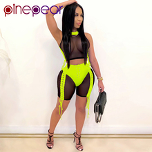 PinePear Sheer Mesh Perspective Sexy Club Outfits Women Lace