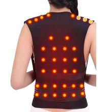 Турмалиновый самонагревающийся поддерживающий пояс для поддержки спины Корректор осанки позвоночника для спины, плеч, поясницы, коррекции осанки