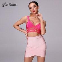 2020 New Autumn Bag Hip White Yellow Cute Fashion Mini V Bottom Female Bandage Strong Stretch Pencil Sexy Tight Skirt Hot Sale