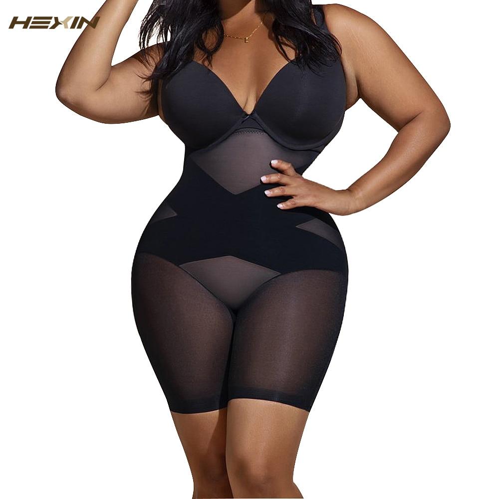 HEXIN Women's Slimming Underwear Bodysuit Body Shaper Waist Trainer Shaper Shapewear Postpartum Recovery Butt Lifter Panties
