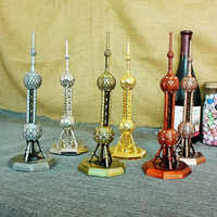 Aleación de lujo Oriental perla Metal artesanías figura estatua modelo hogar Decoración de souvenir modelo niños juguetes para niños adornos regalos
