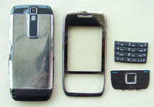 New Full Housing Cover Case AND Keypad Keyboard for Nokia E66 White Grey