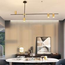 Postmodern Simple Dining Room Chandelier Nordic Creative Personality Living Room Bedroom Kitchen Island Designer Chandelier