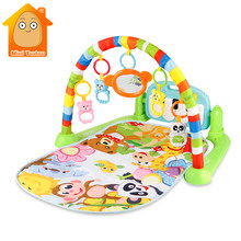 Baby Gym Tapis Puzzles Mat Educational Rack Toys Baby Music Play Mat With Piano Keyboard Infant Fitness Carpet Gift For Kids