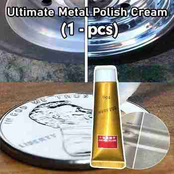 1Pc 10g Ultimate Metal Polishing Paste Faucet Tile Care Cleaner Stainless Steel Ceramic Polishing Wax Paste Rust Remover image