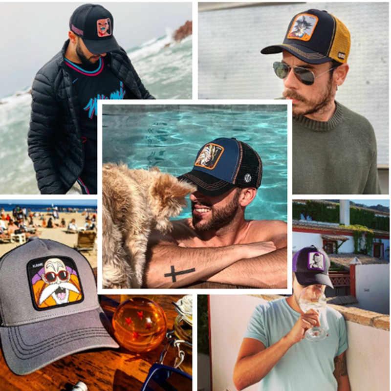 Yeni Dragon topu şapka tüm 40 stilleri örgü beyzbol şapkası yüksek kaliteli kavisli ağız şoför şapkası kap Gorras Casquette Dropshipping