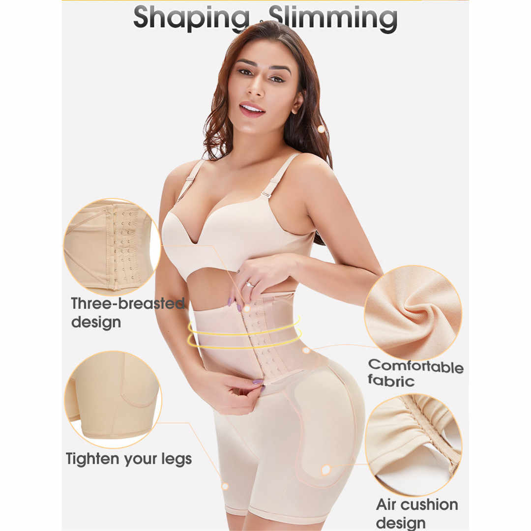 Shaper Butt Lifter Hip Enhancer Padded Hoge Taille Tummy Controle Slipje Onzichtbare Slips Fake Ass Bil Afslanken Dij 1903