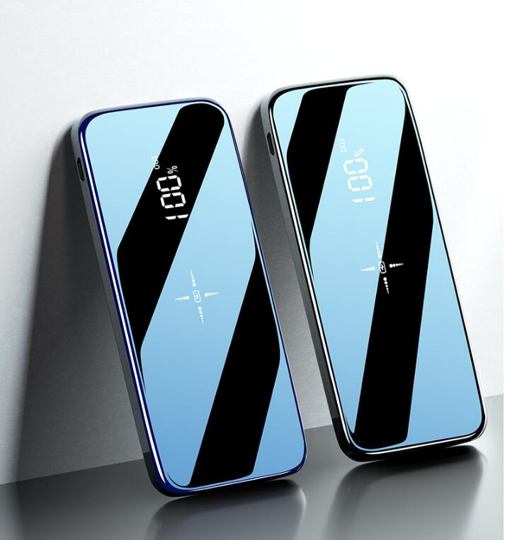 Portable Wireless 30000mAh External Power Bank With Full Screen Mirror for All Phone