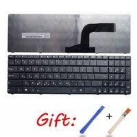 Teclado Do Laptop russa para Asus K73SV X75A X75V X75VB X75VC X75VD RU