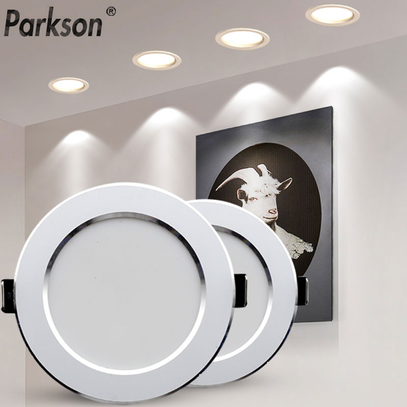 LED Downlight 18W 15W 12W 9W 7W Ceiling Round Recessed Lamp AC220V 230V New Type Downlight Spot LED Spot Lighting