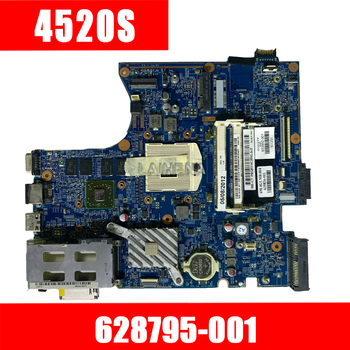 For HP Probook 4720s 4520s Laptop Motherboard 628795-001 598668-001 633551-001 598670-001 HD5470 512MB Free shipping