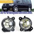 COOYIDOM светодиодный противотуманный фонарь для VW T5 Transporter Multivan Caravelle поло Gol Crafter для Skoda Fabia Roomster в сборе